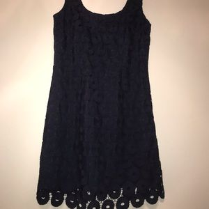 Navy Lace Lilly Pulitzer Dress